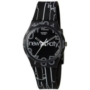 "Swatch Accessories - Authentic Swatch Watch, NYC ""Lines In The Sky"""