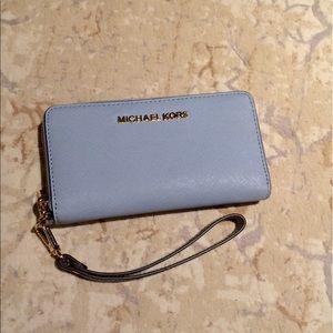 Michael KORS Pale Blue Wallet