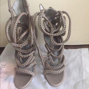 monika chiang Shoes - Authentic Monika Chiang Taupe Imena Shoe Sz 36.5