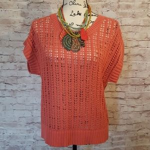 Sonoma Sweaters - Open Knit Summer Sweater NWT