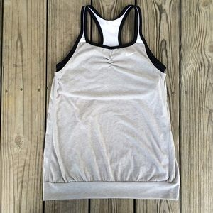 Nike Tops - NIKE Dri-Fit Gray Work Out Tank XL