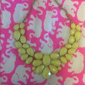 other Jewelry - Yellow statement necklace