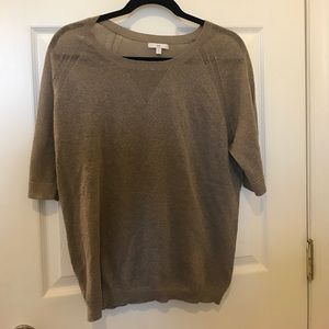 GAP Sweaters - Sheer Metallic Layering Top