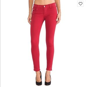 True Religion Denim - {True Religion} Serena Crop Super Skinny Jeans