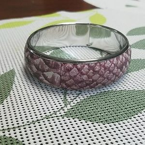 New scales mermaid snake bangle