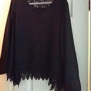 ANDREA FENZI Tops - Zac & Rachel Dressy blouse