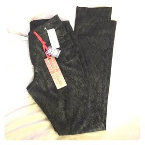 Liverpool Jeans Company Pants - Liverpool snake print black jeans