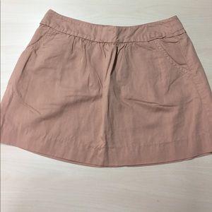 J. Crew Dresses & Skirts - J. Crew 8 Terra Cotta Casual Cotton Linen Skirt