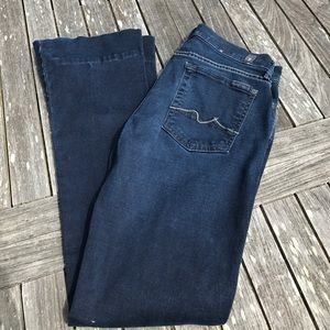 7 for all mankind Lexie Kaylie Jeans 27 Short