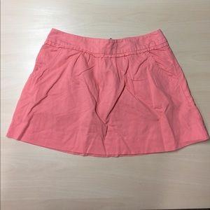J. Crew Dresses & Skirts - J. Crew 2 Pink Flamingo Casual Cotton Linen Skirt