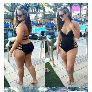 Other - Sexy Women Plus Size One Piece Monokini Swimwear P
