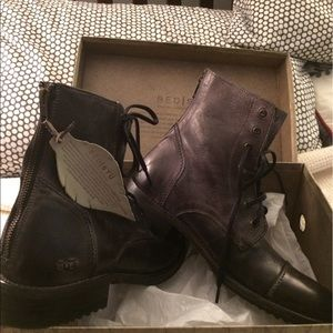 BED / STU MENS LEATHER BOOTS