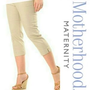 Motherhood Maternity Pants - Motherhood Maternity Capri Pants