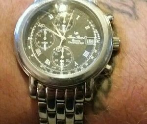"""Lucien Piccard Other - LUCIEN PICCARD MEN'S """"Noble Chronograph"""" Watch"""
