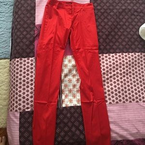 motivi Pants - Red pants