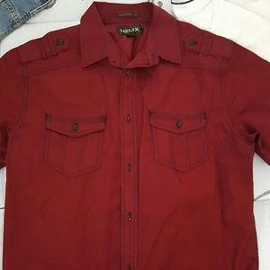 helix Other - Mens collared shirt