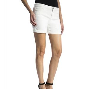 Liverpool Jeans Company Pants - Liverpool Jeans company off-white Jean shorts
