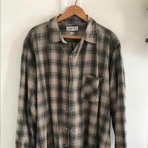 American apparel men's flannel