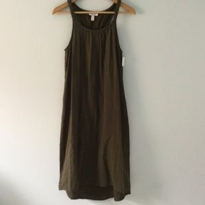 Liz Lange for Target Dresses & Skirts - NWT olive green braided Liz Lange maternity dress