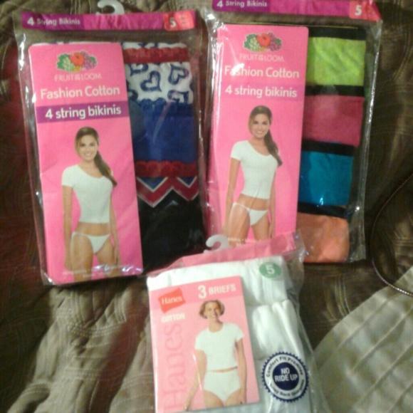 aecc71190d2f Fruit of the Loom Intimates & Sleepwear | Undies String Bikini ...