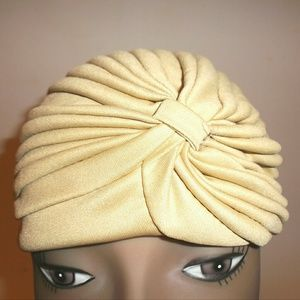 Accessories - Indian Turban in Gold NWOT