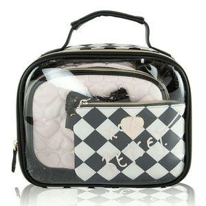 Betsey Johnson Handbags - Betsey Johnson 3 piece travel case
