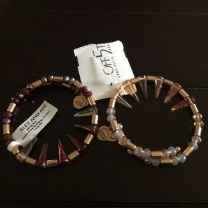 "Alex & Ani Jewelry - BNWT Alex & Ani ""depths of the wild"" wrap set!!"