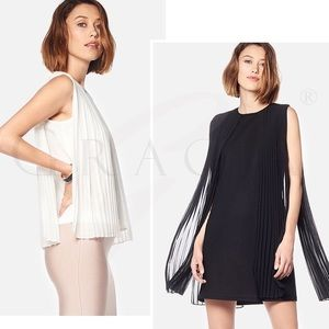Gracia Tops - Sleeve Less lace Drops Top