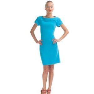 Rachel Roy Dresses & Skirts - NWT Rachel Roy Cutout Back Turquoise Sheath Dress
