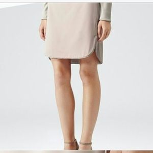 Reiss Dresses & Skirts - REISS   blush/pale pink dual slit silk skirt