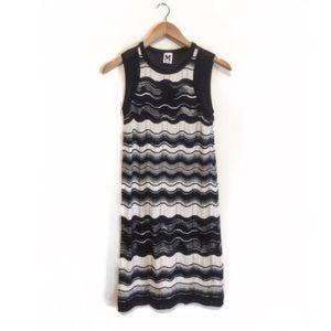 M by Missoni Dresses & Skirts - M Missoni Zigzag Sleeveless Dress in Black