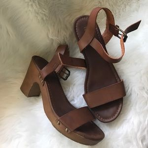 MIA Shoes - Brown sandals