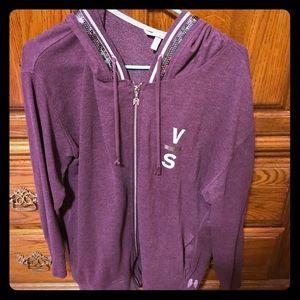 Purple Victorias Secret hoodie