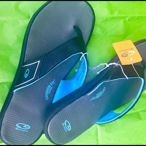 574aaab2e8b7ba ... C9 Champion® bue  😎FLIP FLOP SANDALS NWT Cushion Fit Gray Blue 🌠  popular stores d577b 77ac4 ...