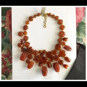 J. Crew Jewelry - 🌈🌼NWT, Bronze Floral Statement Necklace🌈