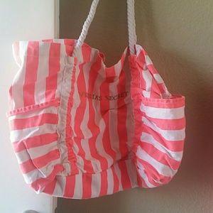Victoria's Secret Handbags - Faded Victoria Secret tote beach bag