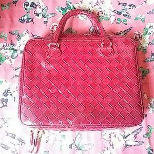 Estee Lauder Handbags - *NEW* Red Estee Lauder Purse