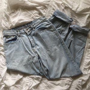 Eddie Bauer Denim - Vintage 90s Plus Mom Jean - Light Wash Eddie Bauer