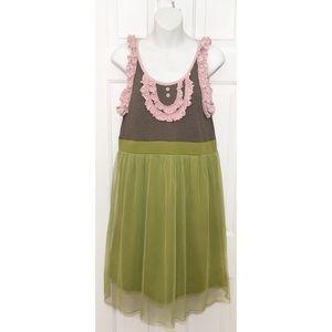 Matilda Jane Dresses & Skirts - мαтιℓ∂α ʝαиє - Tulle Ruffle Peasant Dress