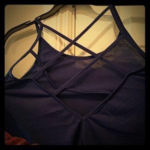 Acne Tops - Colbolt blue weave straps BACK Brand NEW ???