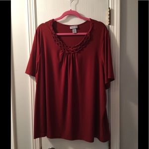 Perfect Rust Top size 22/24