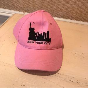 Pink NYC baseball cap NWOT