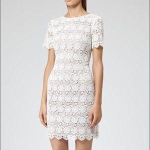 Reiss Dresses & Skirts - Reiss Guripure White Lace Crochet Dress 4 S Small