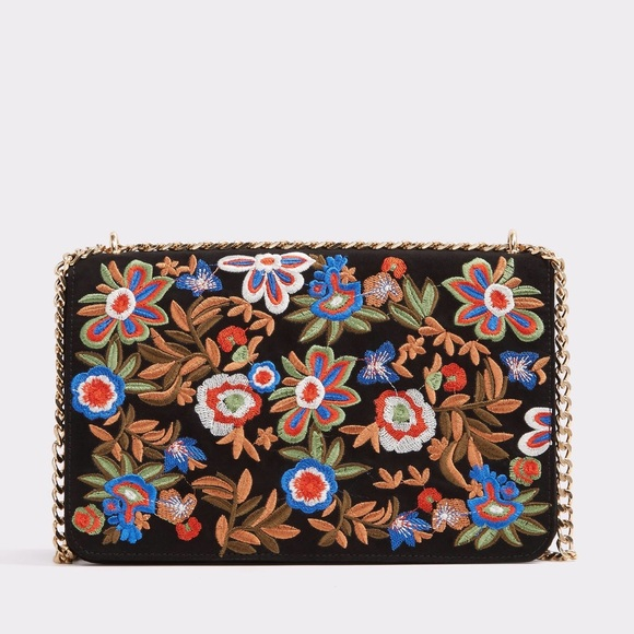 9324287ad9d Aldo Aferidia Floral Embroidered Crossbody Bag
