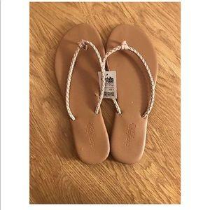 BRAND NEW Nude/ Blush Braided sandal