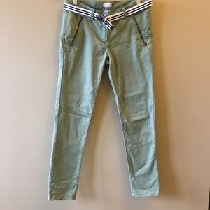 J. Crew Other - Crewcuts kids skinny chinos with belt