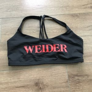 lululemon athletica Other - Lululemon weider logo energy bra