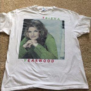 Hanes Tops - Vintage Trisha Yearwood concert tshirt