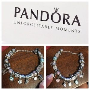 Pandora Jewelry One Day Sale Pandora Bundle Bracelet And 7 Charms Poshmark