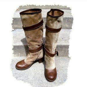 Fiorentini + Baker Shoes - Fiorentini + Baker pirate buckle boots $80!!